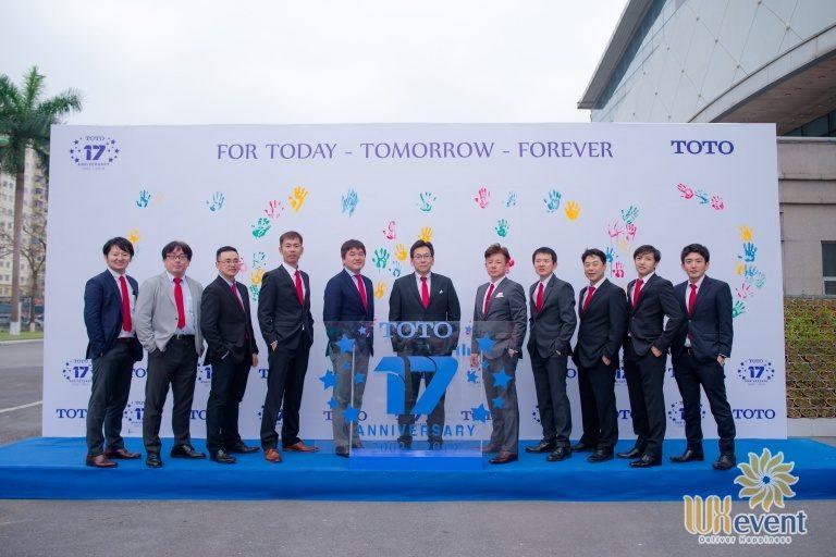 Tổ chức sự kiện - Lễ kỷ niệm 17 năm thành lập TOTO Việt Nam 8