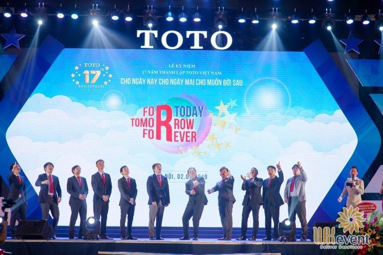 Tổ chức sự kiện - Lễ kỷ niệm 17 năm thành lập TOTO Việt Nam 5