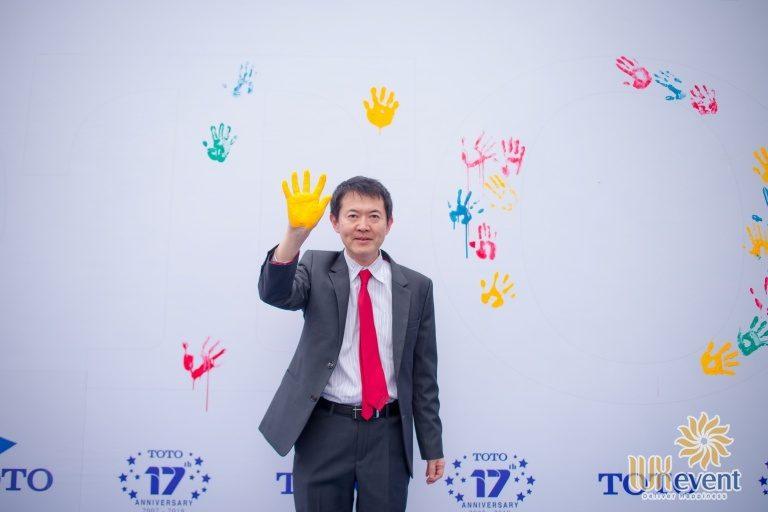 Tổ chức sự kiện - Lễ kỷ niệm 17 năm thành lập TOTO Việt Nam 6