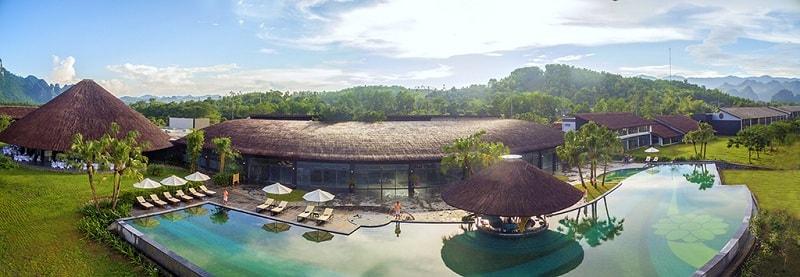resort tổ chức sự kiện tại miền Bắc Serena Resort