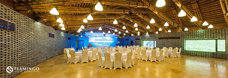 Phòng hội thảo tổ chức sự kiện tại resort Flamingo Đại Lải