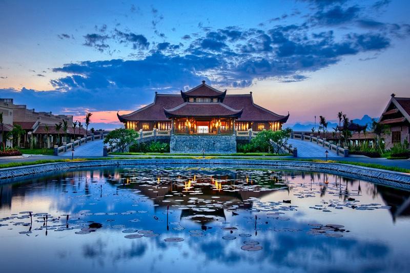 resort tổ chức sự kiện Emeralda Ninh Bình