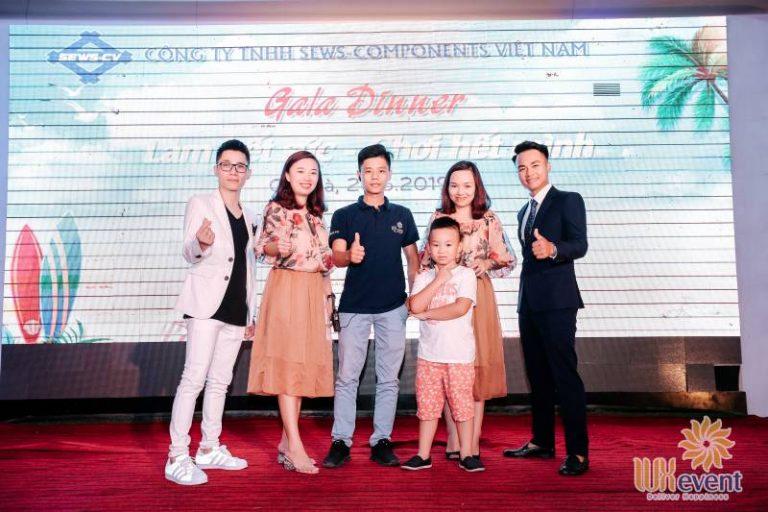 Tổ chức du lịch hè Sews-Components Việt Nam 9