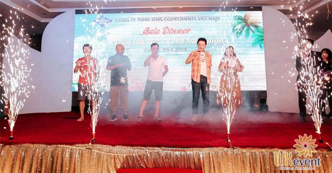 Tổ chức du lịch hè Sews-Components Việt Nam 1