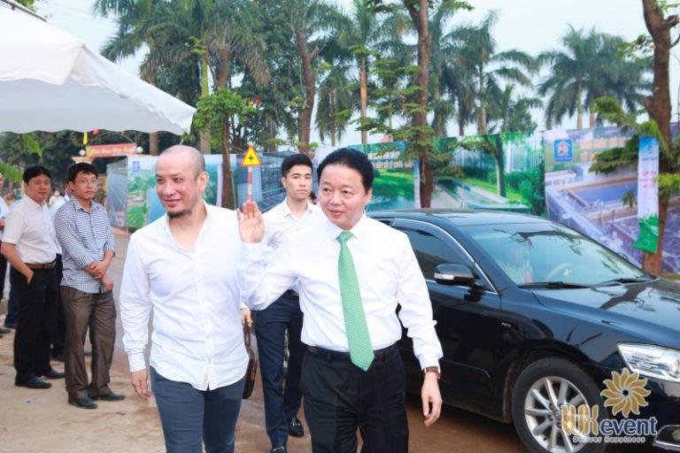 """Tổ chức sự kiện lễ khánh thành """"Nhà máy xử lý nước thải làng nghề Cầu Ngà"""" 6"""