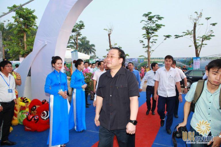 """Tổ chức sự kiện lễ khánh thành """"Nhà máy xử lý nước thải làng nghề Cầu Ngà"""" 7"""