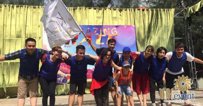 Tổ chức team building Amazing Race - Công ty TNHH Không Gian Mới 2
