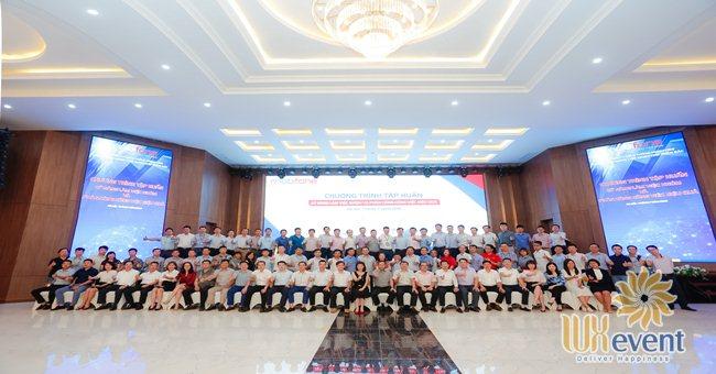 tổ chức hội nghị sơ kết 6 tháng đầu năm và triển khai nhiệm vụ 6 tháng cuối năm Mobifone - Luxevent