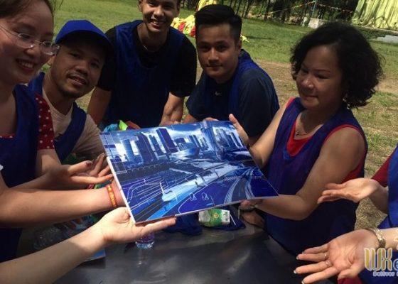 Tổ chức team building Amazing Race - Công ty TNHH Không Gian Mới 8