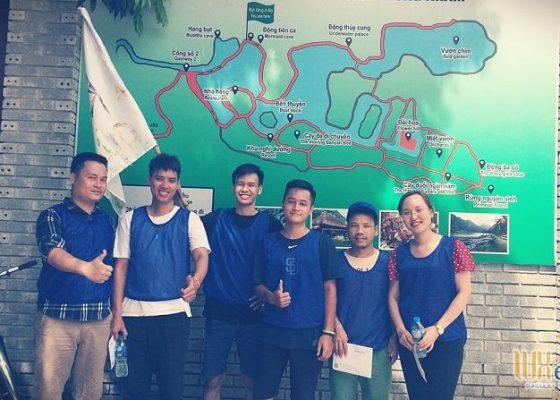Tổ chức team building Amazing Race - Công ty TNHH Không Gian Mới 9