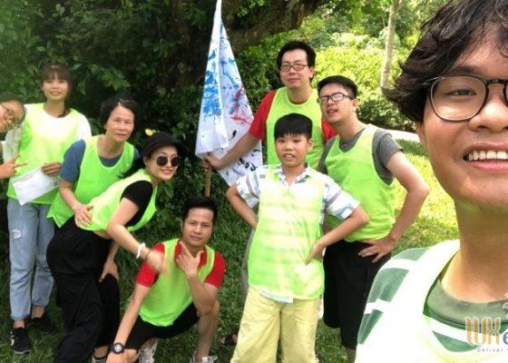 Tổ chức team building Amazing Race - Công ty TNHH Không Gian Mới 11