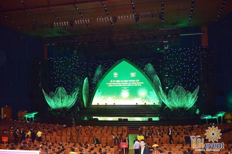 Các trung tâm tổ chức sự kiện lớn tại Hà Nội
