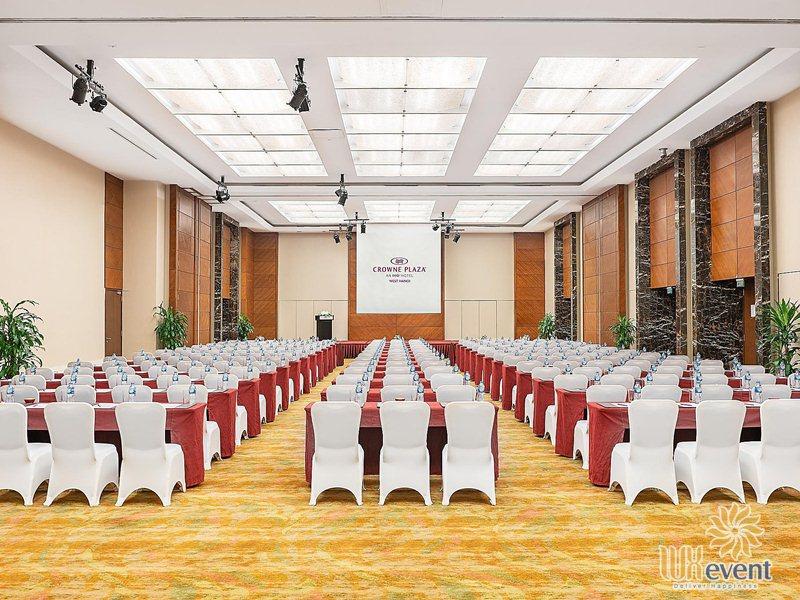 Khách sạn tổ chức sự kiện 5 sao Hà Nội Crowne Plaza