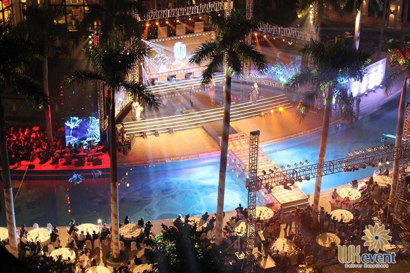 Khách sạn tổ chức sự kiện ngoài trời Hanoi Daewoo Hotel