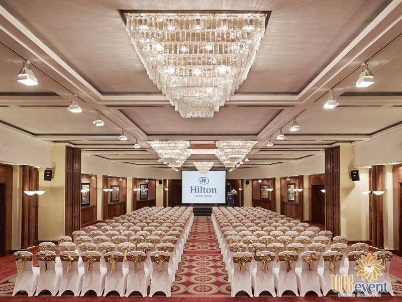 các khách sạn tổ chức sự kiện tại Hà Nội