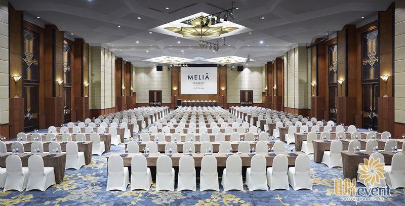 Khách sạn tổ chức sự kiện có phòng hội nghị hội thảo lớn Melia Hanoi