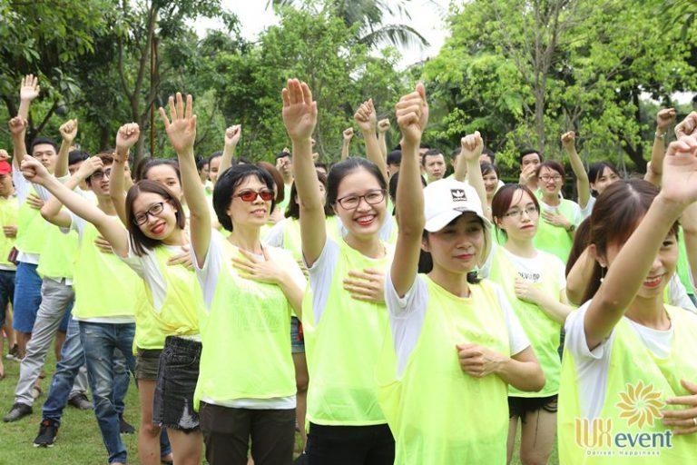 Luxevent tổ chức team building Công ty cổ phần VinFa 0010