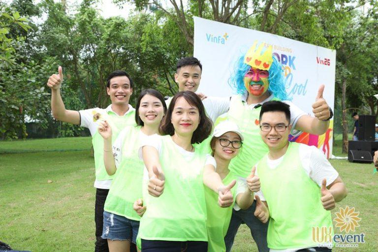 Luxevent tổ chức team building Công ty cổ phần VinFa 004