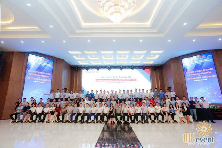 tổ chức hội nghị sơ kết 6 tháng đầu năm - Mobifone 0010