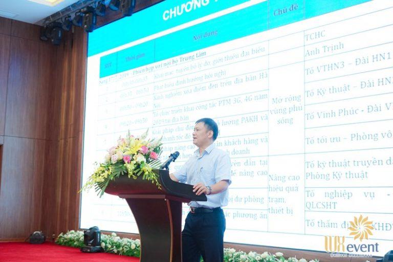 tổ chức hội nghị sơ kết 6 tháng đầu năm - Mobifone 0013