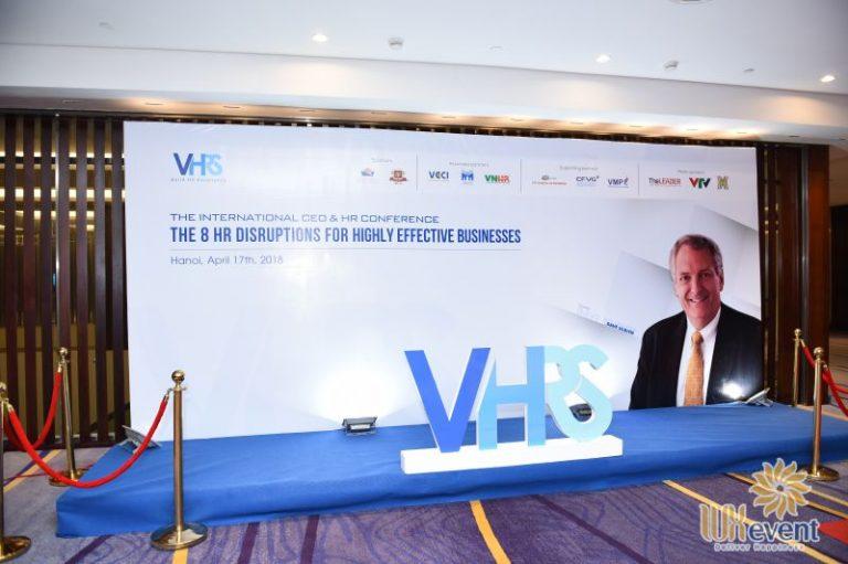 Tổ chức hội thảo nhân sự - Công ty Cổ phần VHRS 6