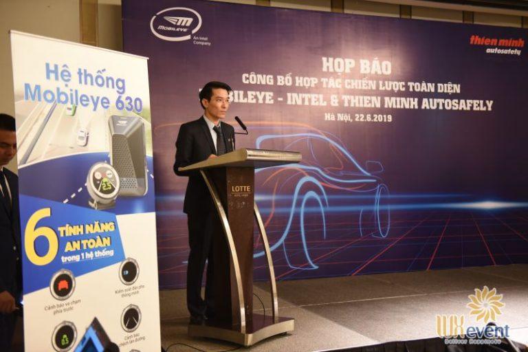 Tổ chức họp báo Công bố Hợp tác giữa Thien Minh Autosafety & Mobileye - Intel 11