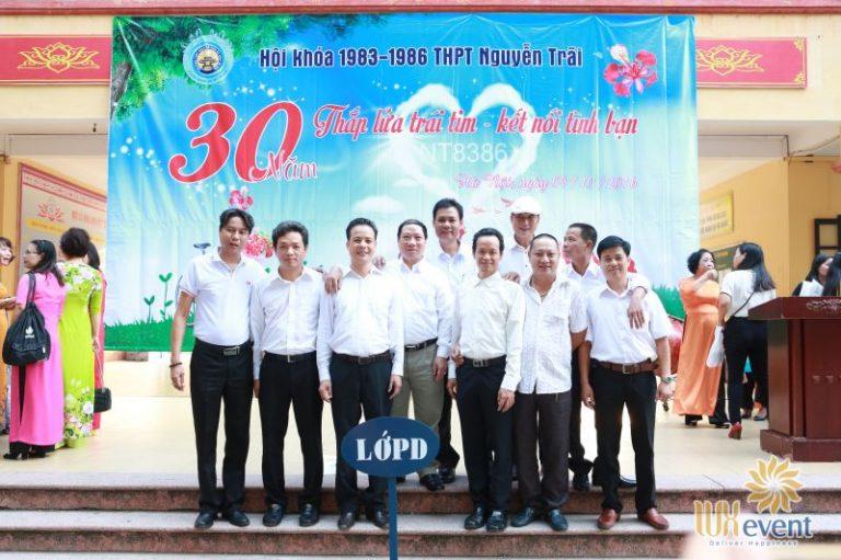tổ chức họp khóa 30 năm ra trường thpt nguyễn trãi Luxevent 004