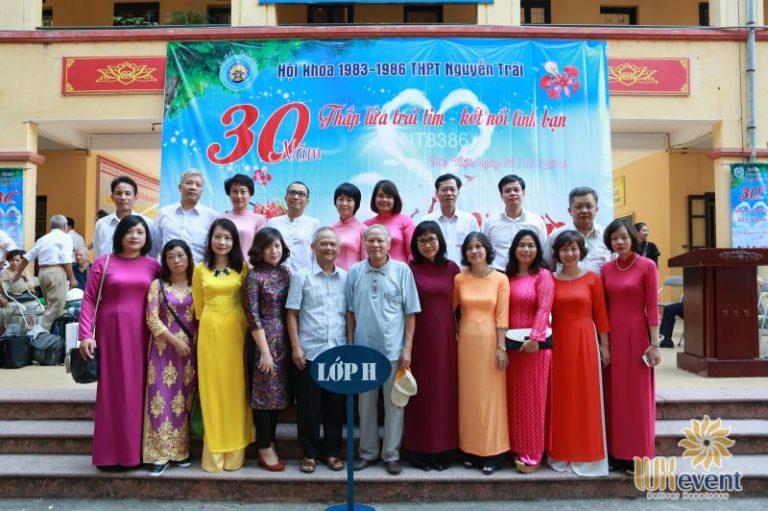 tổ chức họp khóa 30 năm ra trường thpt nguyễn trãi Luxevent 005