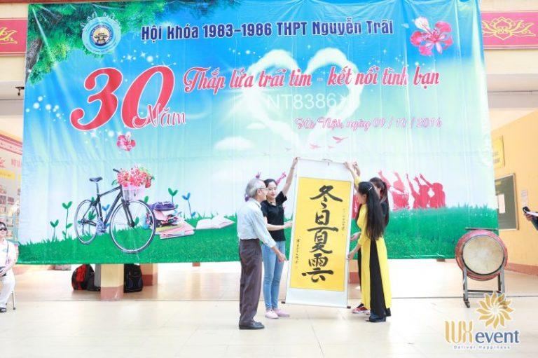 tổ chức họp khóa 30 năm ra trường thpt nguyễn trãi Luxevent 0010