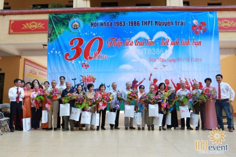 tổ chức họp khóa 30 năm ra trường thpt nguyễn trãi Luxevent 0012