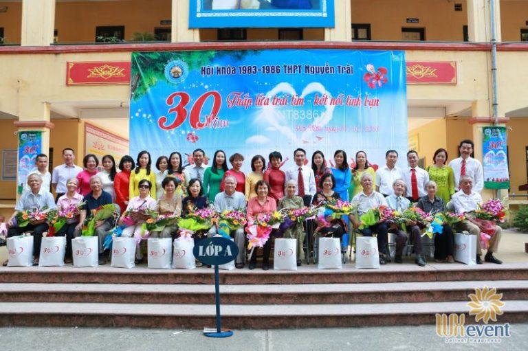 tổ chức họp khóa 30 năm ra trường thpt nguyễn trãi Luxevent 0013
