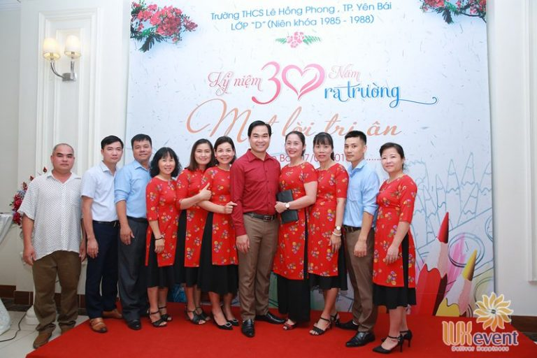 Tổ chức họp lớp kỷ niệm 30 năm ra trường - THCS Yên Bái 7