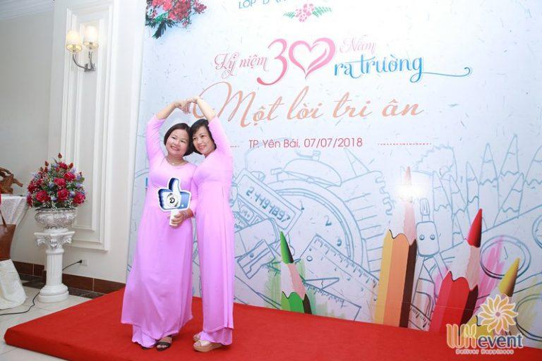 Tổ chức họp lớp kỷ niệm 30 năm ra trường - THCS Yên Bái 9