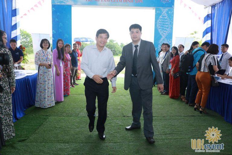 tổ chức lễ khai trương trung tâm giám định ADN 012