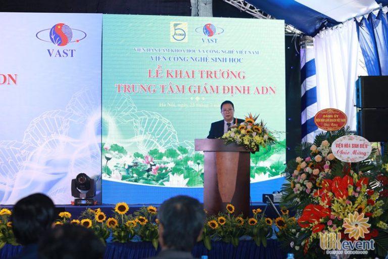 tổ chức lễ khai trương trung tâm giám định ADN 024