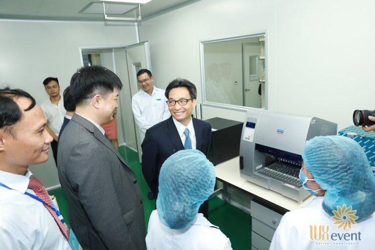 tổ chức lễ khai trương trung tâm giám định ADN 031