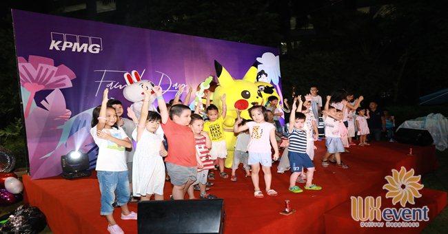 Luxevent tổ chức ngày hội gia đình KPMG Việt Nam