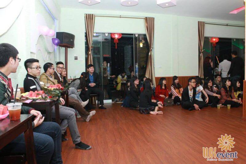 Quán cafe cho tổ chức sự kiện tại Hà Nội Mr. HD