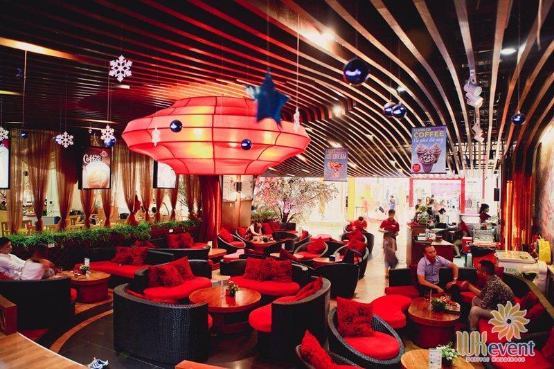 Quán cafe tổ chức sự kiện Hà Nội Skyline Coffee