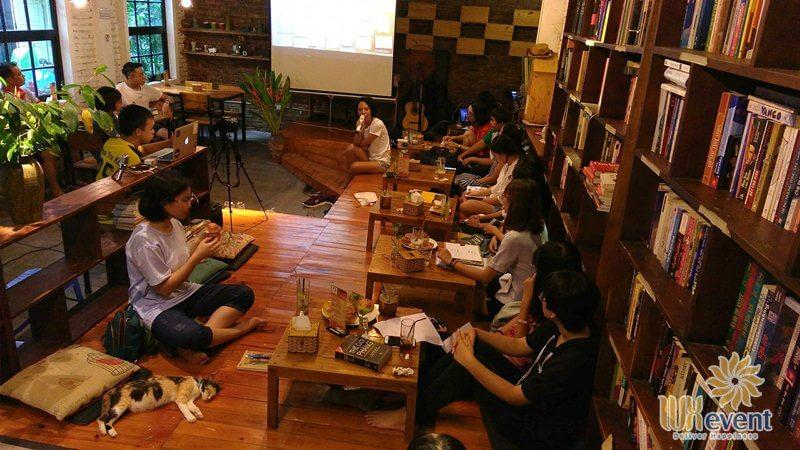 quán cafe tổ chức sự kiện tại hà nội Tổ Chim Xanh BlueBirds'Nest