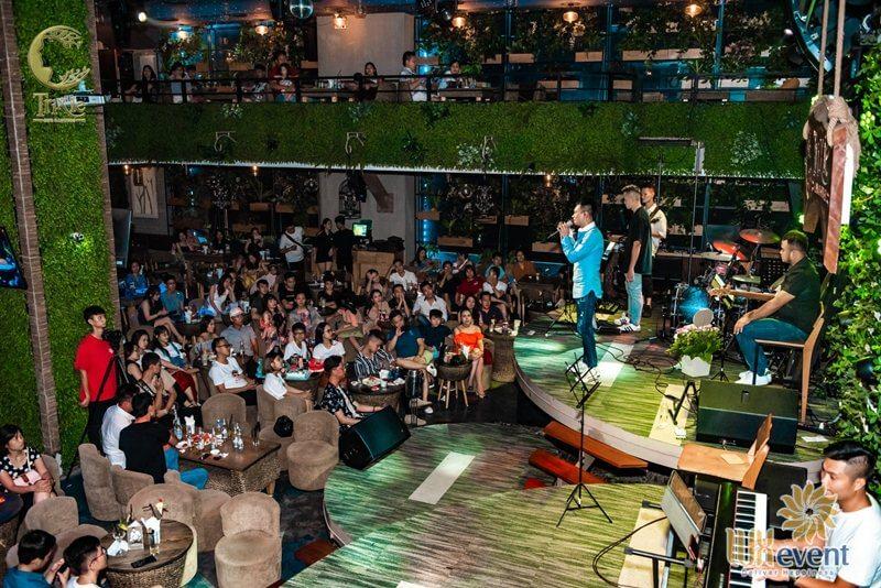 Quán cafe tổ chức sự kiện Hà Nội Trixie Cafe & Lounge