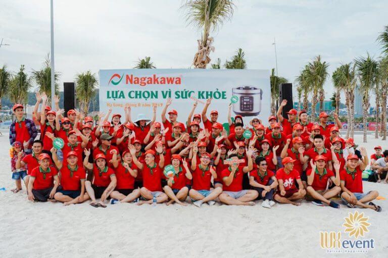 Luxevent tổ chức du lịch team building tập đoàn Nagakawa 005