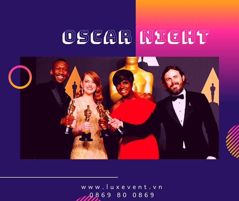 ý tưởng tổ chức tiệc tất niên cuối năm Oscar Night