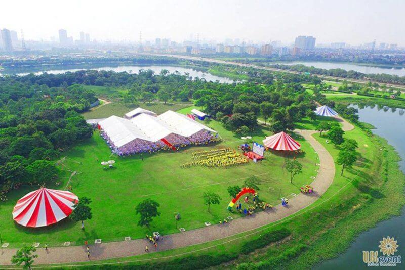 địa điểm tổ chức ngày hội gia đình tại công viên Yên Sở