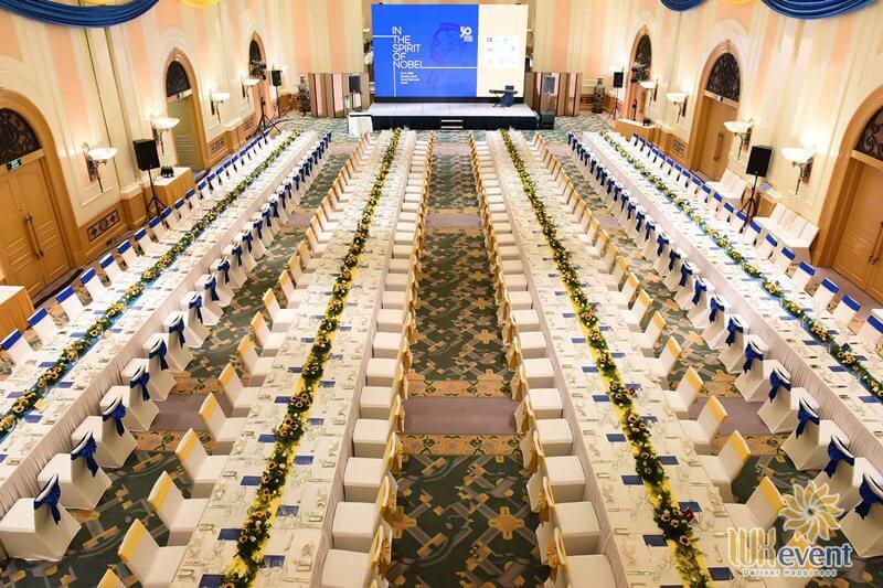 địa điểm tổ chức tiệc cuối năm tại hà nội