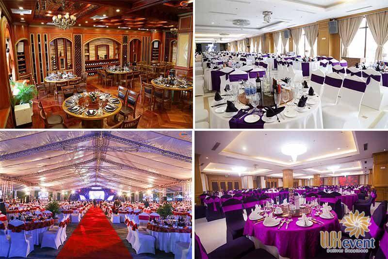 địa điểm tổ chức tiệc cuối năm tại quận Long Biên hà nội