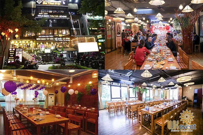 địa điểm tổ chức tiệc tất niên công ty cho 100 người ở Hà Nội