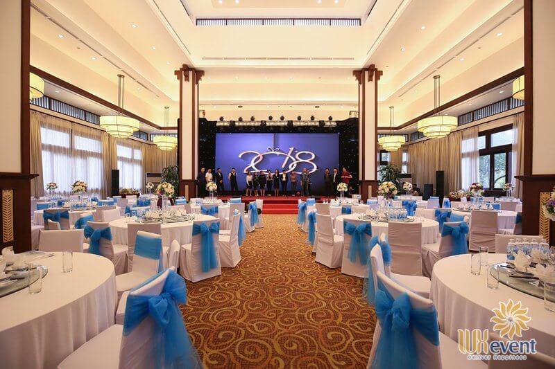 địa điểm tổ chức tiệc tất niên công ty ở tại Hà Nội