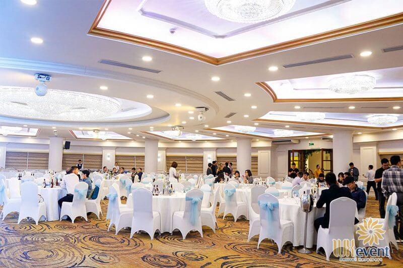địa điểm tổ chức tiệc tất niên công ty tại quận Ba Đình