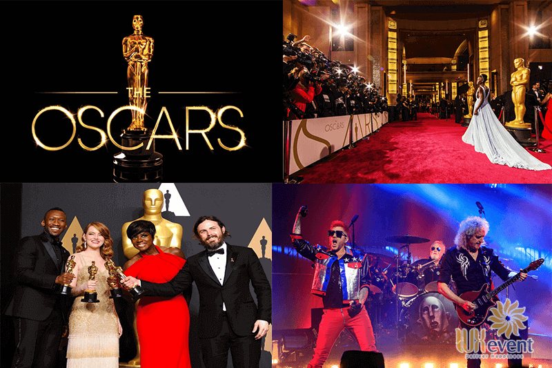 year end party concept lễ trao giải the oscars